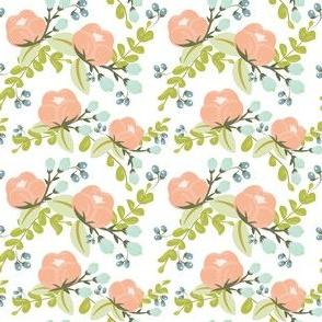 Peachy Poppies for Lauren