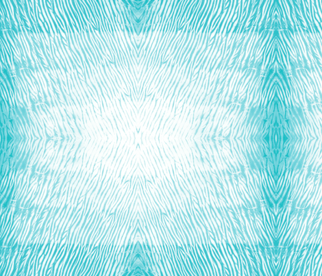 Shibori  23 Aqua fabric by theplayfulcrow on Spoonflower - custom fabric
