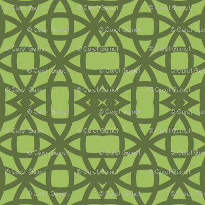 Oolong Green on Green