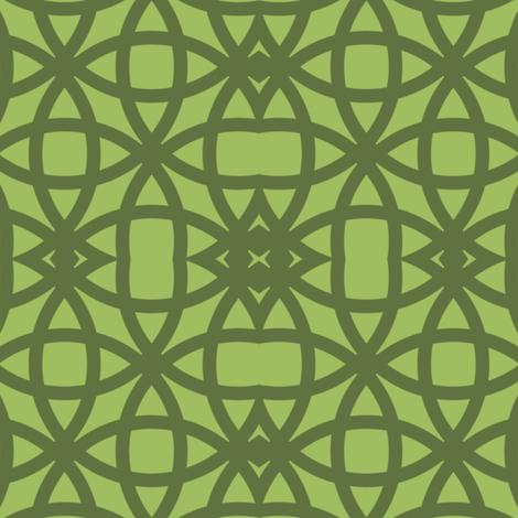 Oolong Green on Green fabric by gargoylesentry on Spoonflower - custom fabric