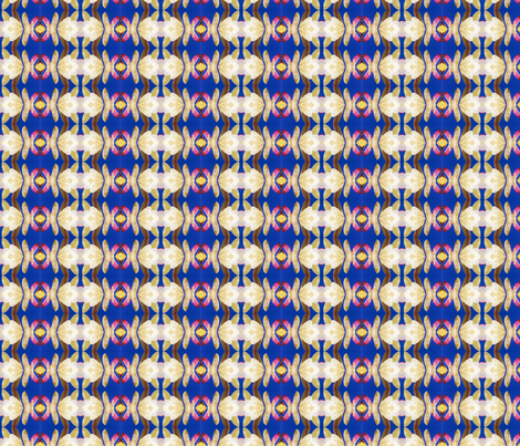 Southwest Moon Rise fabric by ktd on Spoonflower - custom fabric