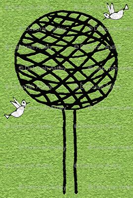 Collaboration: Birdies & Twine Trees