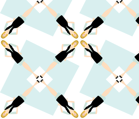 Cinderella Radial fabric by cireedesigns on Spoonflower - custom fabric