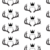 King of Wild Things Deer Antlers