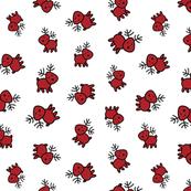 rudolph, red reindeer