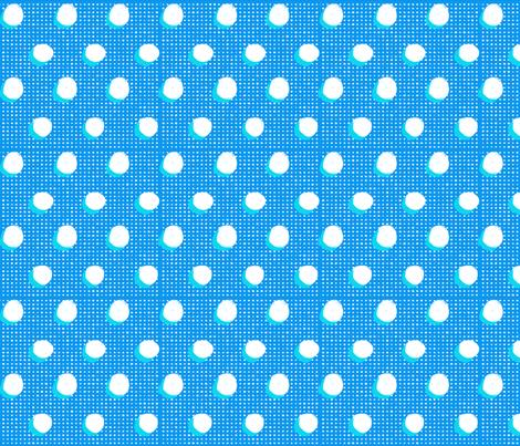 Floral Pop Polka Dot fabric by kikipetiford on Spoonflower - custom fabric