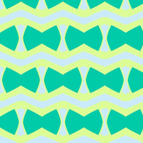 Bow Tie Stripe fabric by blue_dog_decorating on Spoonflower - custom fabric