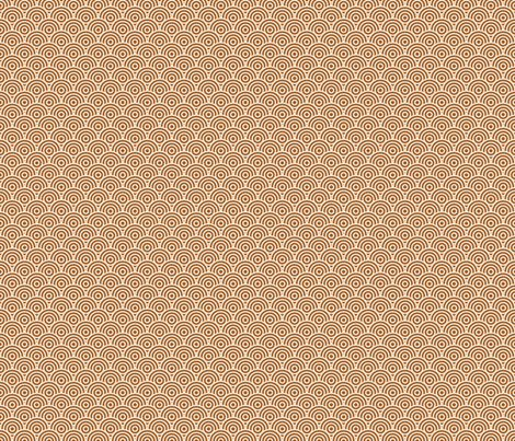 Rondelle (Coffee) fabric by studiofibonacci on Spoonflower - custom fabric