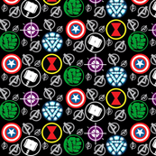 Avenge & Conquer - black