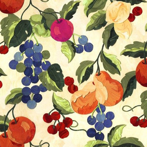 Marbled Paper Fruit Garden