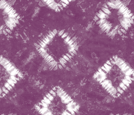 Shibori 01 Subdued Amethyst fabric by theplayfulcrow on Spoonflower - custom fabric