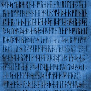 Codex Runicus Blue