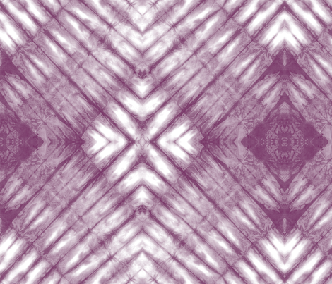 Shibori 25  Subdued Amethyst fabric by theplayfulcrow on Spoonflower - custom fabric