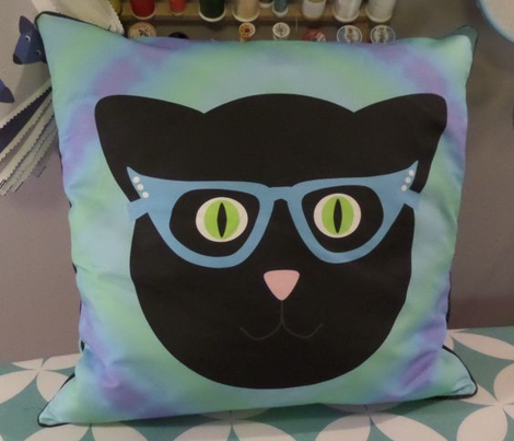Tie-Dye Kitty Pillow Kit