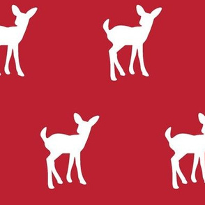 fawn - paprika red || holiday