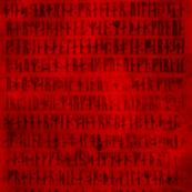 Codex Runicus Red Fuzzy Version