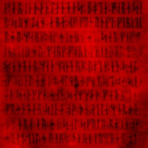 Codex Runicus Red Fuzzy Version