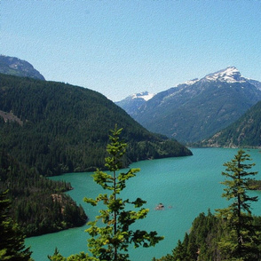 state washington - diablo lake