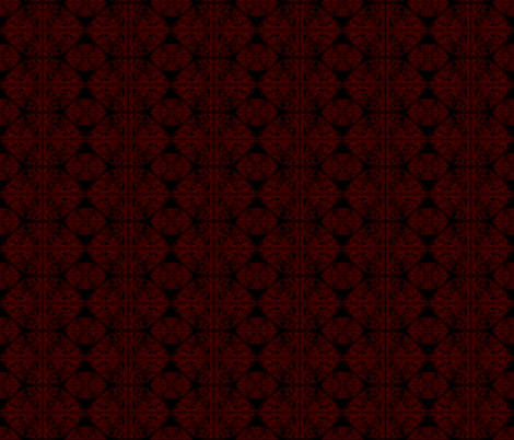 Norse weathervane red and black fabric by odinist on Spoonflower - custom fabric
