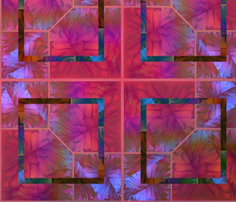 HNC Fuchsia & Red fabric by desertattitude on Spoonflower - custom fabric