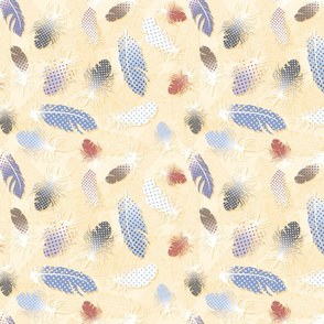 Quail_Spot_Feather_pattern