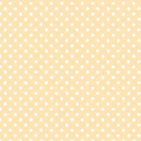Quail_spot_pattern_cream-01 fabric by claire-gaffney on Spoonflower - custom fabric