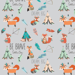 Brave little fox-ch