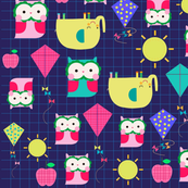 elephants and owls!