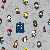 Doctors and Companions (gray)