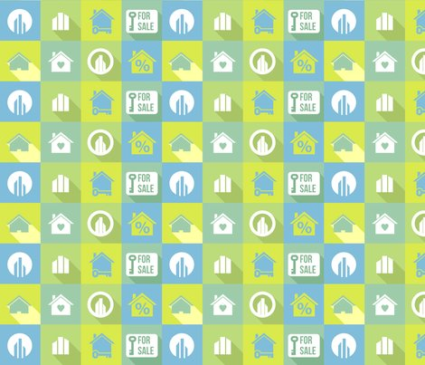 Real estate fabric studiofibonacci spoonflower for The fabric of reality