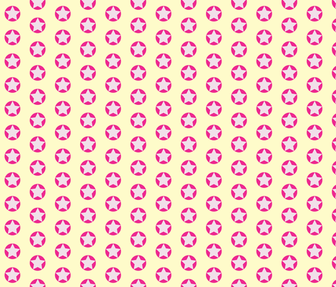 star_spots_pink_cosmos fabric by colour_angel_by_kv on Spoonflower - custom fabric