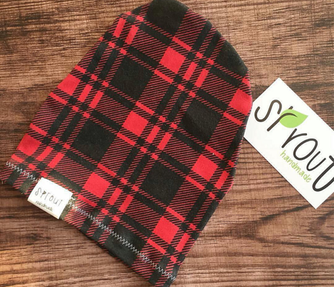 Black and Red Fall Plaid || the lumberjack