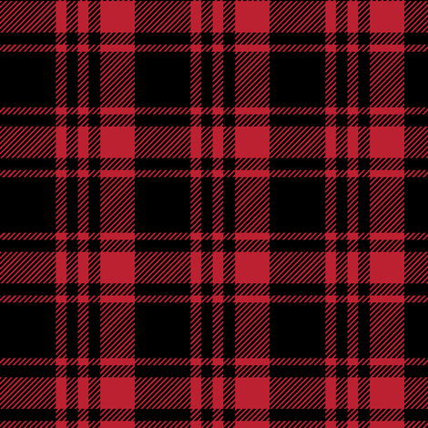Black and Red Fall Plaid || the lumberjack fabric by littlearrowdesign on Spoonflower - custom fabric