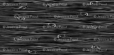 woodgrain - black and white || the lumberjack