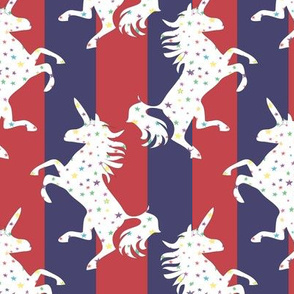 Unicorns in the Cosmos blue_red