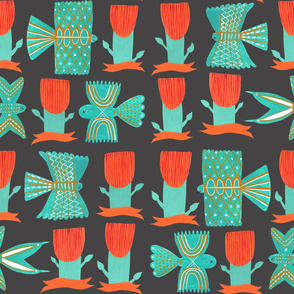 Aztecish Birds