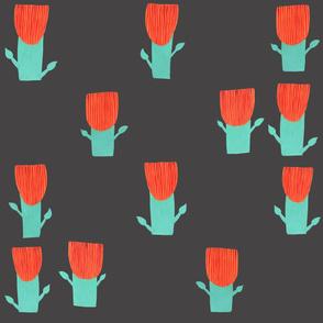 Aztecish Birds Floral