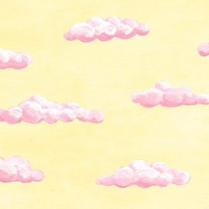 painted clouds - pink sunrise