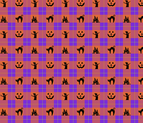 Wicked Plaid fabric by krystalsavage on Spoonflower - custom fabric