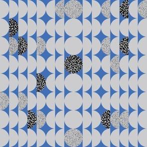 Circles Circles Blue & Grey