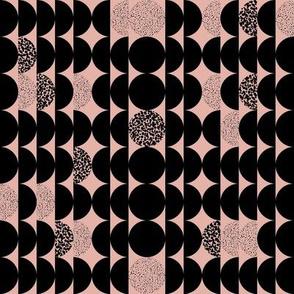 Circles Circles Pink & Black