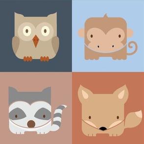 Squared Animals