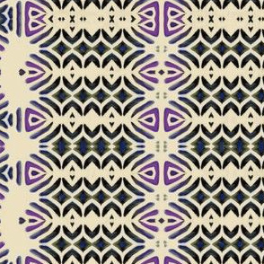 Talavera BW and plum