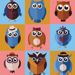 Fancy Owls