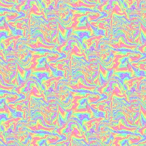 Marbled Pastel Rainbow