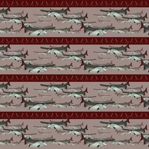 SM - Paddlefish Brigade Stripe