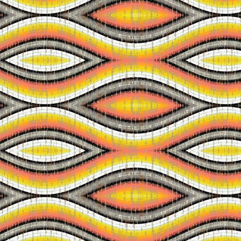 African Wave fabric by joanmclemore on Spoonflower - custom fabric