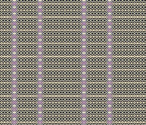 Talavera bw & plum fabric by wren_leyland on Spoonflower - custom fabric