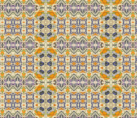talavera-mex-tile2 fabric by wren_leyland on Spoonflower - custom fabric