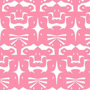 Island Tribal Print 5 Pink